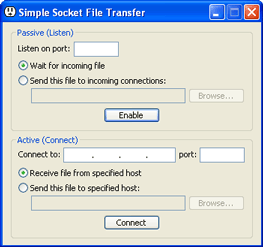 Simple Socket File Transfer 1 0 - WhitSoft Development